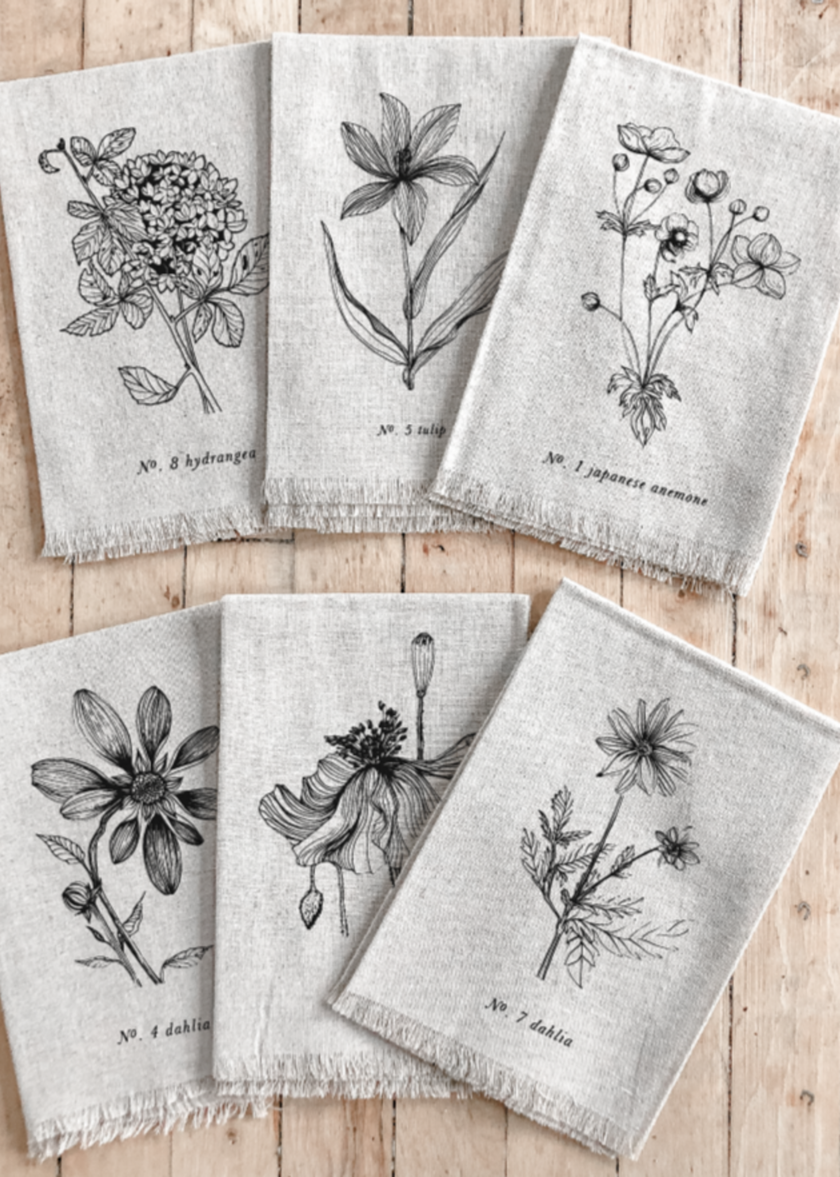 Botanicals Napkin - Anemone