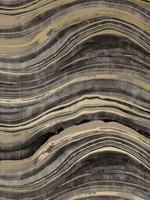 Travertine Black & Gold Wallpaper- Single