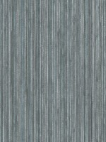 Grasscloth Chambray Wallpaper - Double
