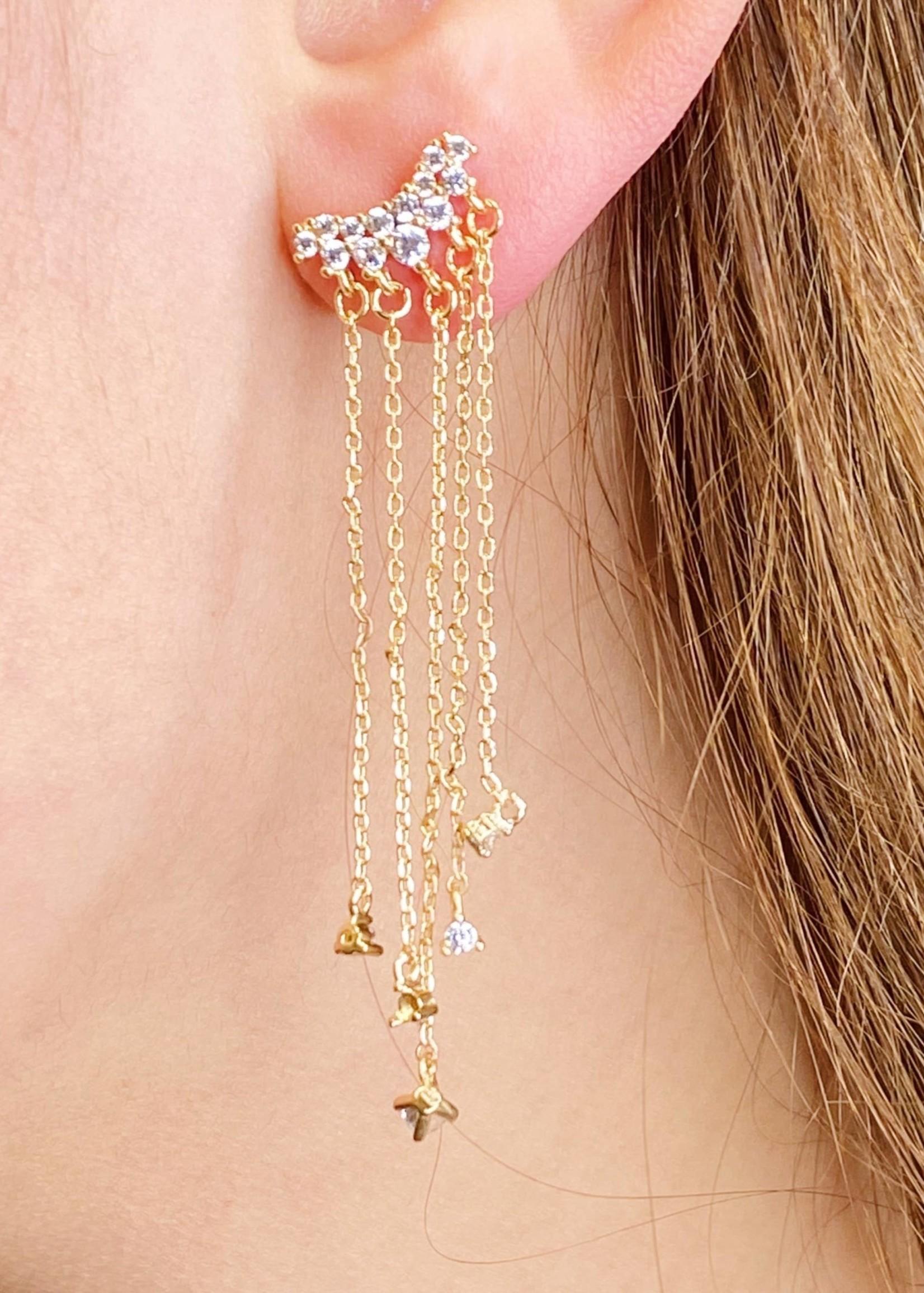 Dreamy Star Shower Earrings