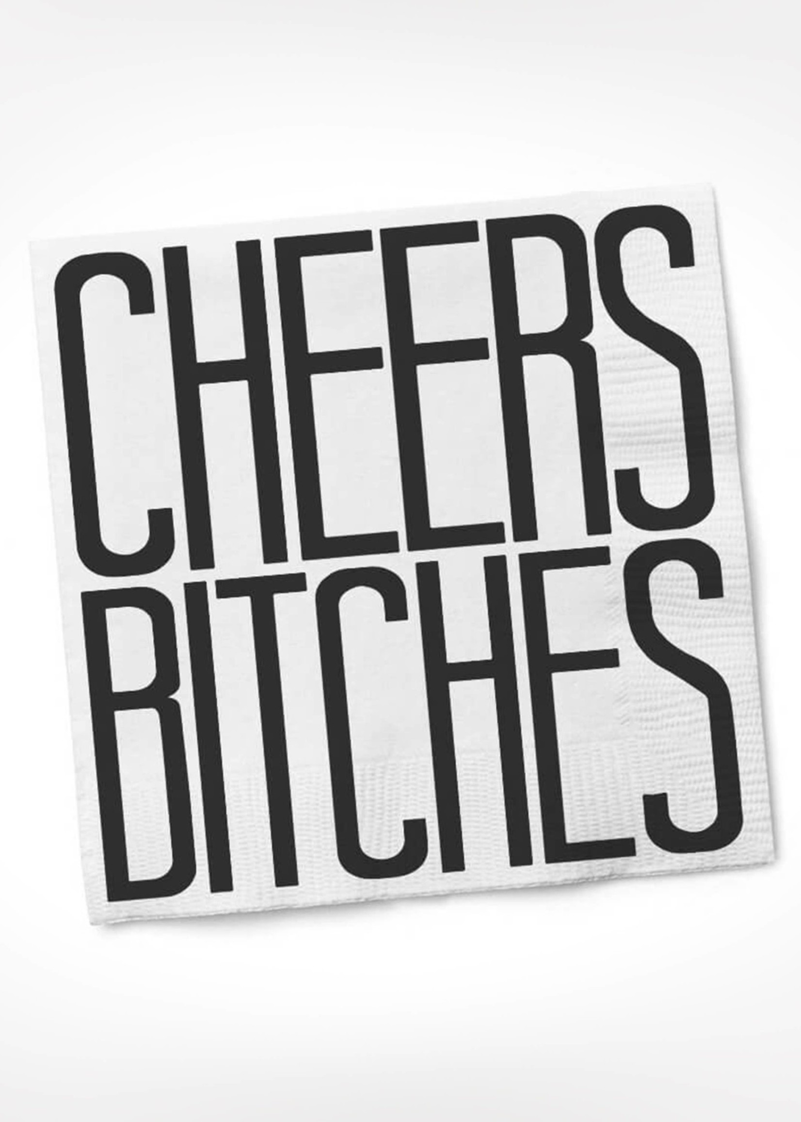 Cheers Bitches Cocktail Napkin