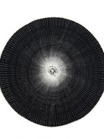 Willa Woven Placemat, Black