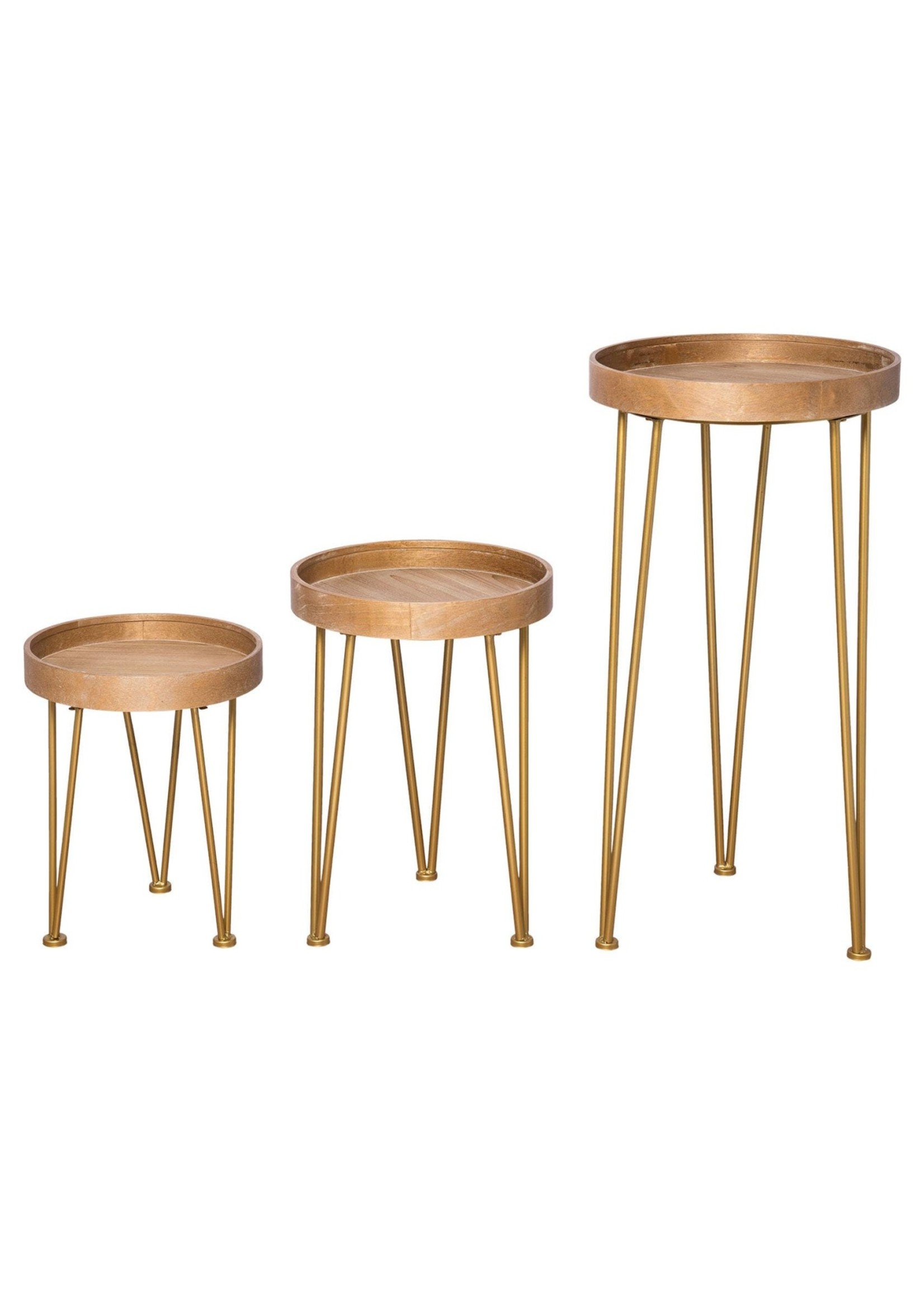 Hairpin Nesting Table, Small