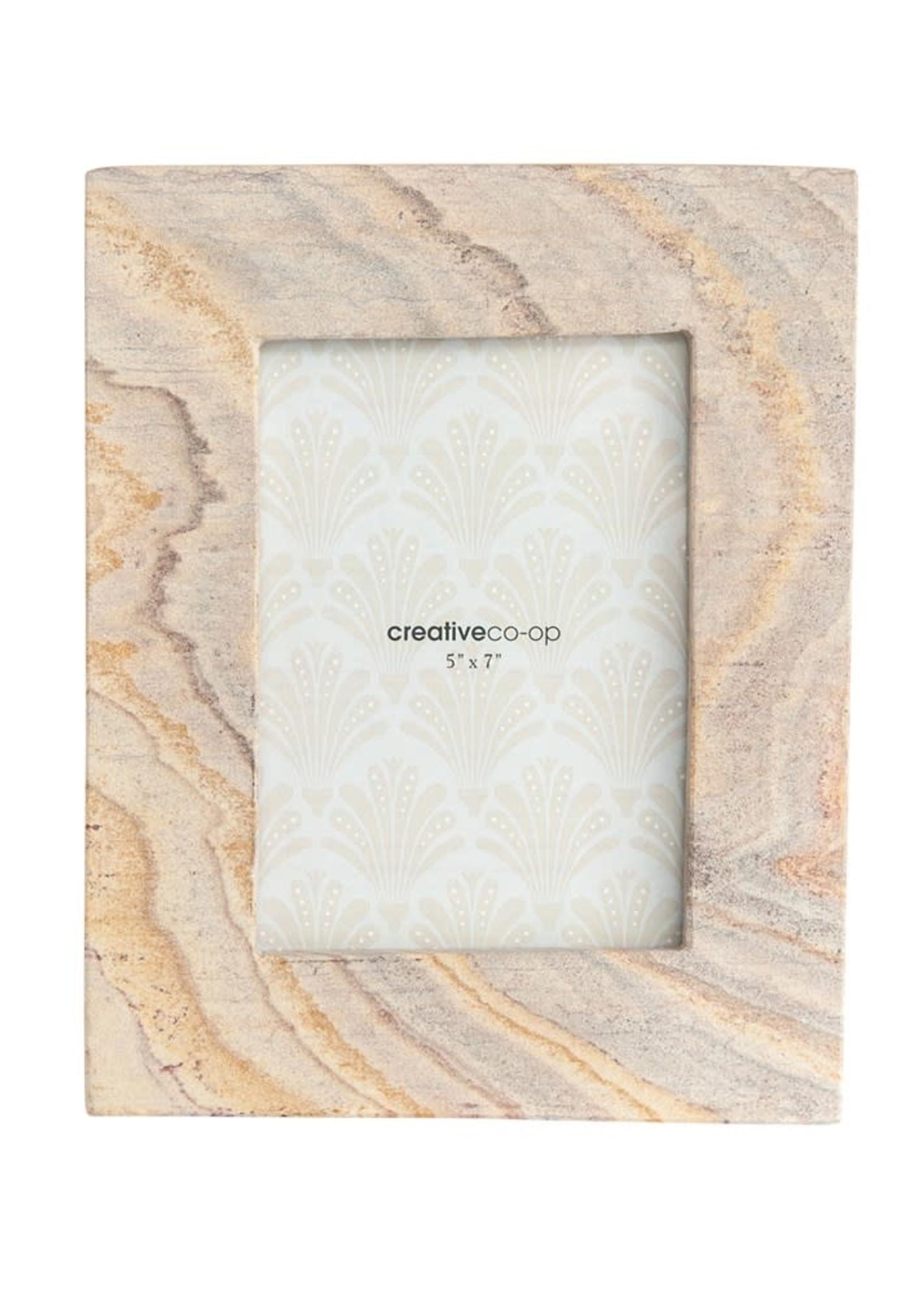 Sandstone Photo Frame, Pink