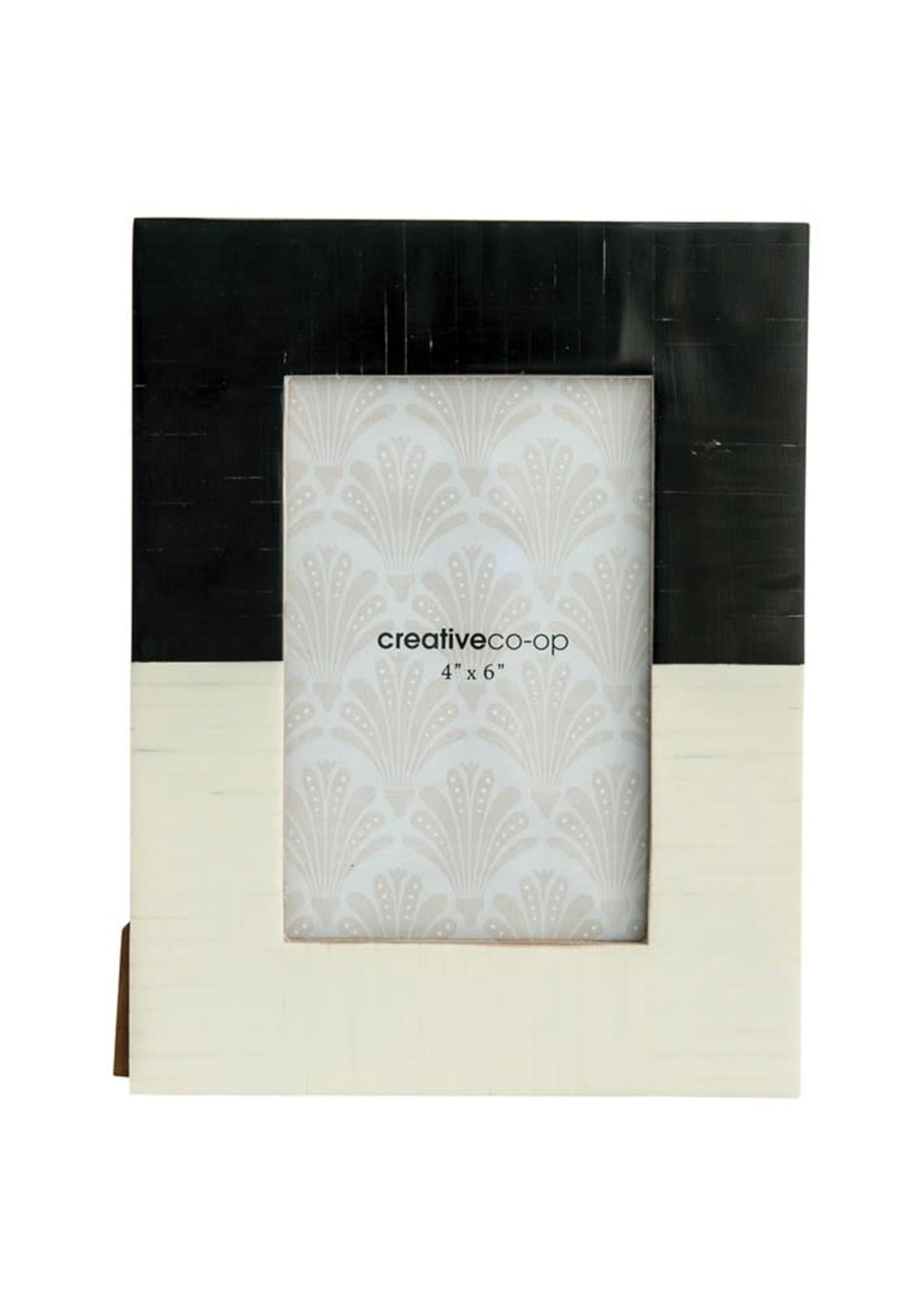 Resin Photo Frame, Black & White