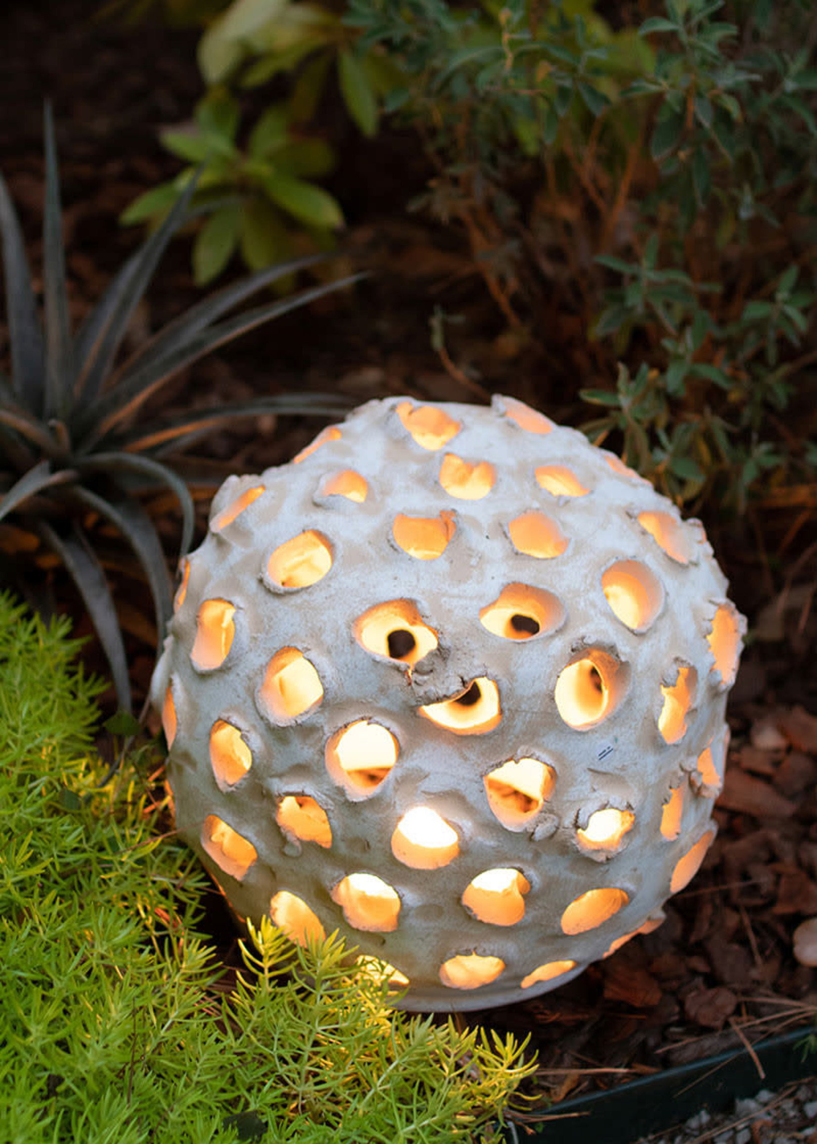 Clay Sphere with Holes