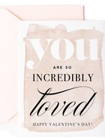 You Are So Loved Valentine's Day Card