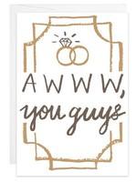 Awww, You Guys - Mini Card
