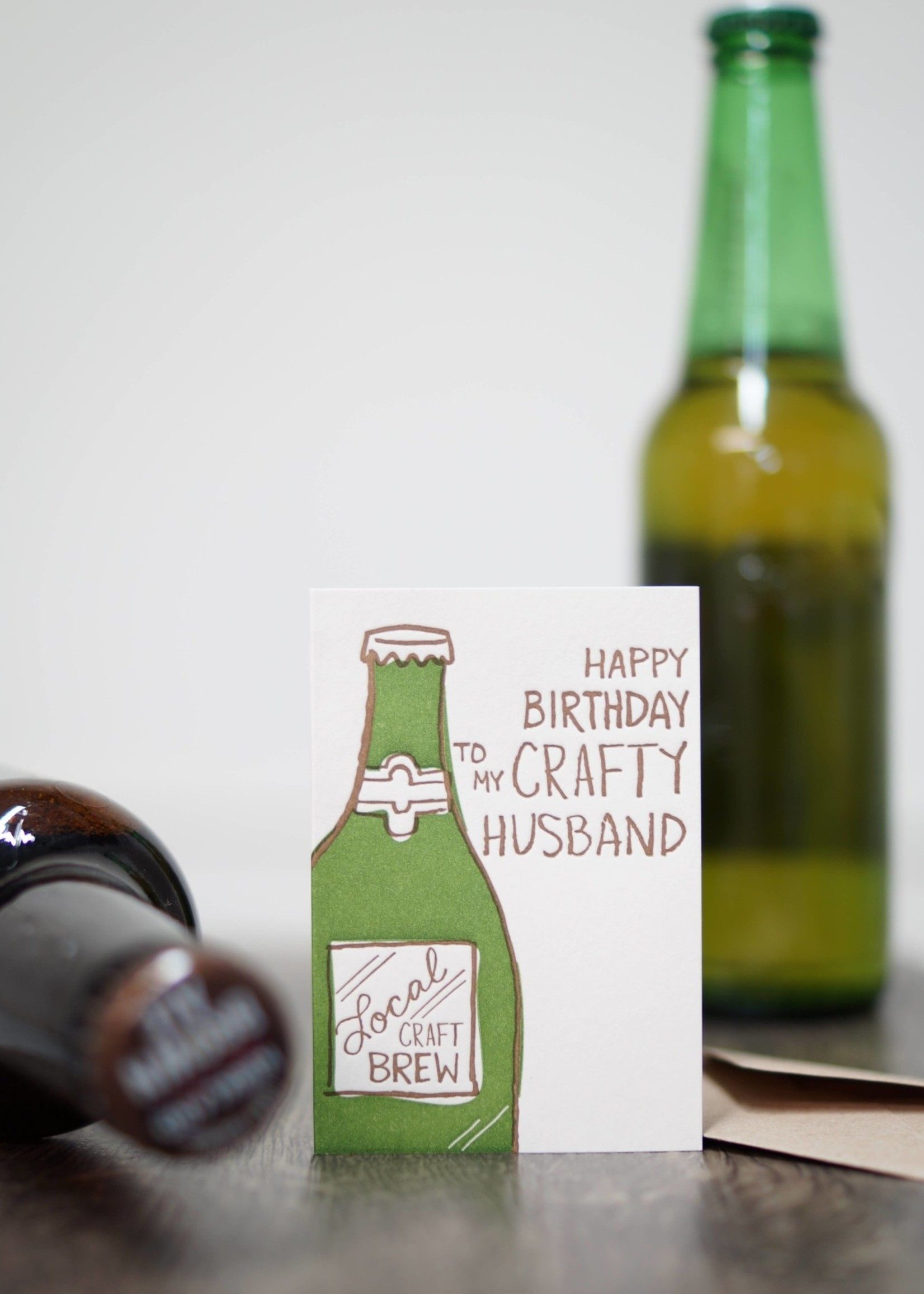 Crafty Husband - Mini Card