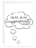 Inappropriate Thoughts - Mini Card