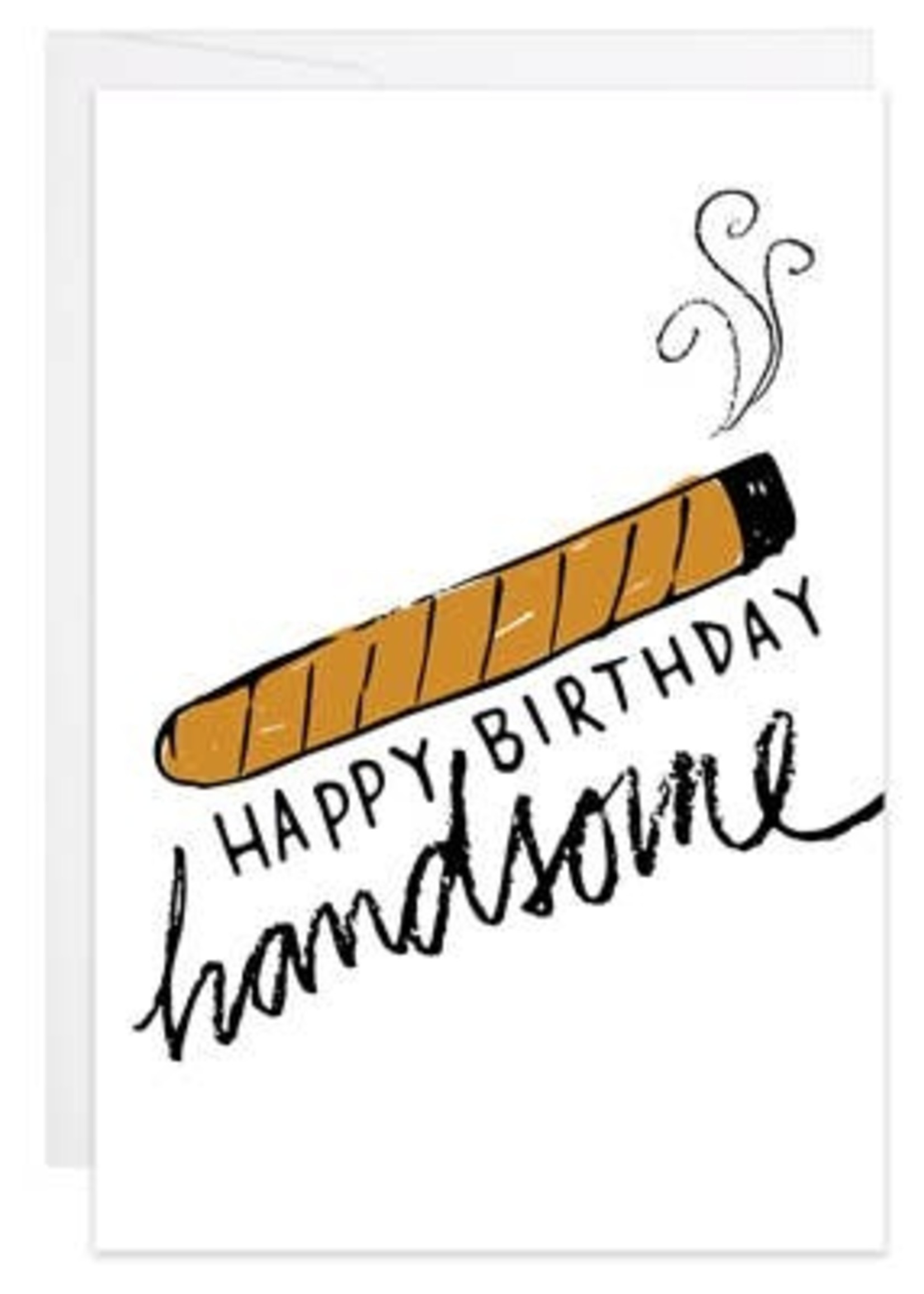 HB Handsome - Mini Card