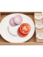 Grill Plate Condiment Set