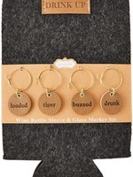 Drink Cozy and Charm Set