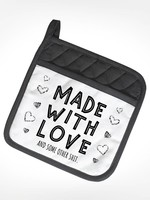 Made With Love Potholder