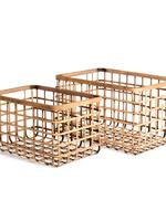 River Bamboo Basket Large