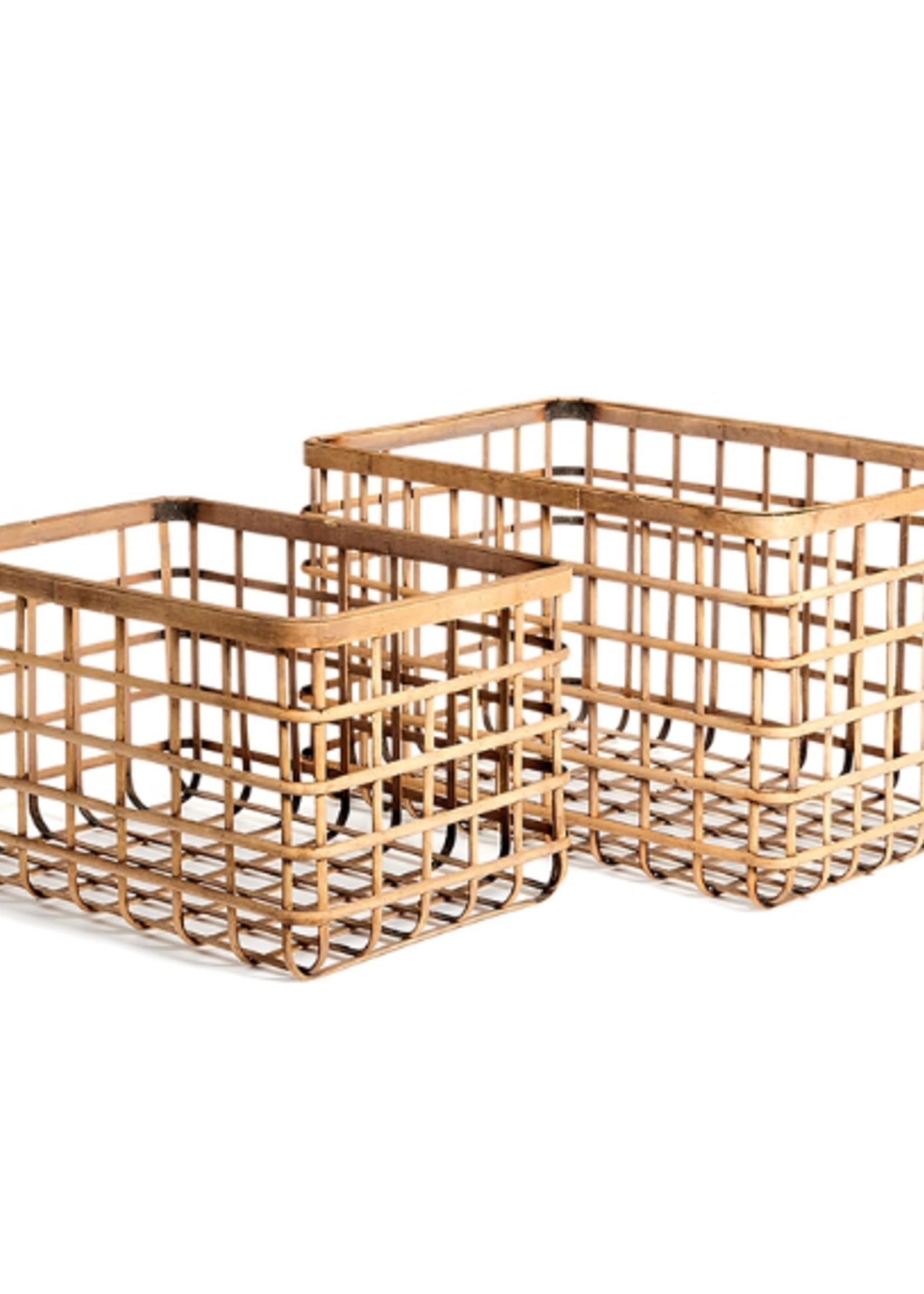 River Bamboo Basket Small