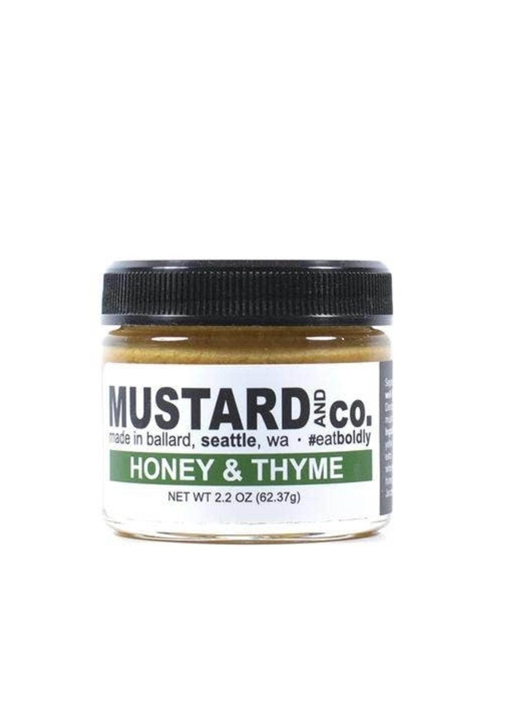 Honey & Thyme Mustard