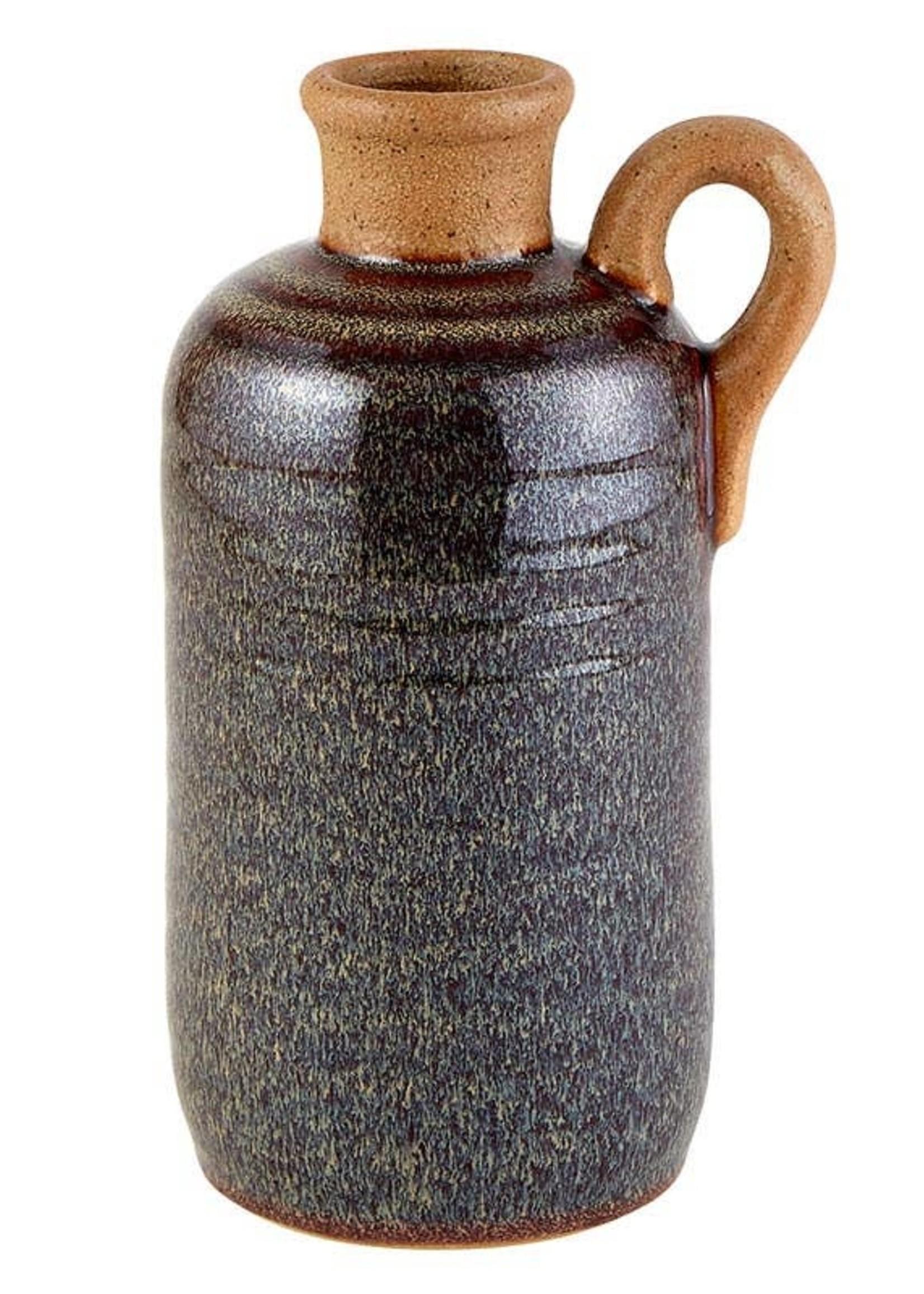 Dark Brown Jug Vase