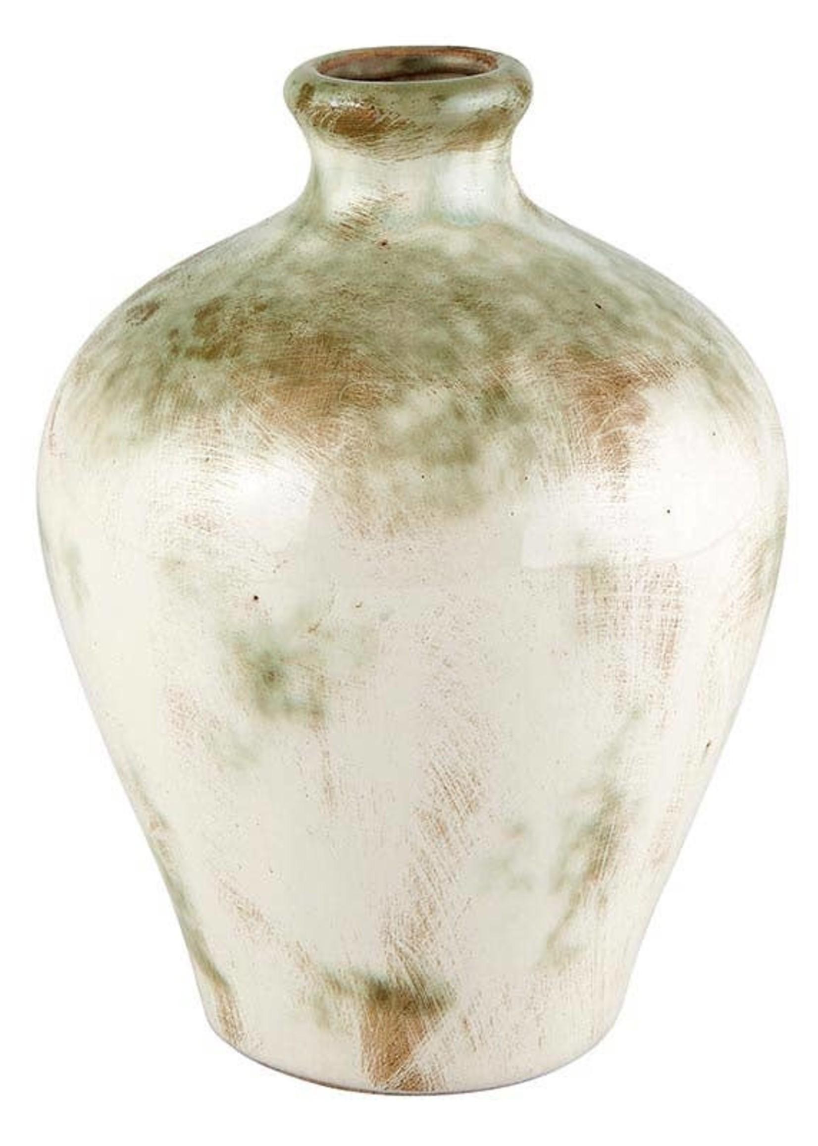 Cream Vase Lrg