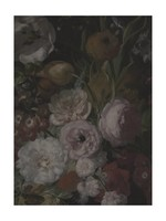 Midnight Bouquet-Floral, Fabric Gallery Wrapped