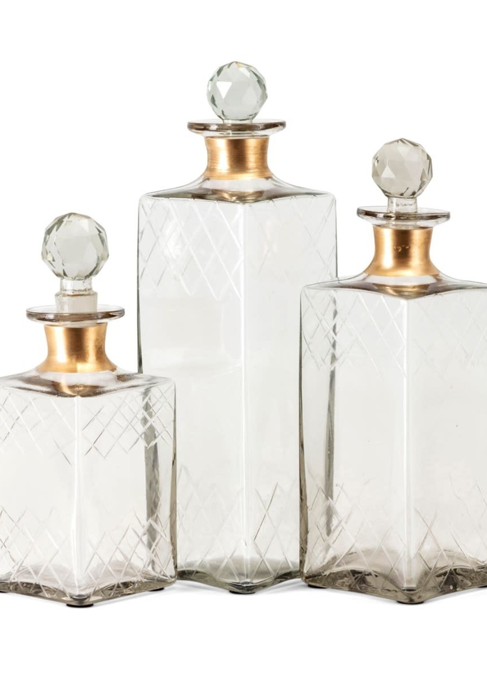 Hampshire Etched Decanters, Small