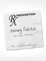 Fukitol Rx Cocktail Napkin