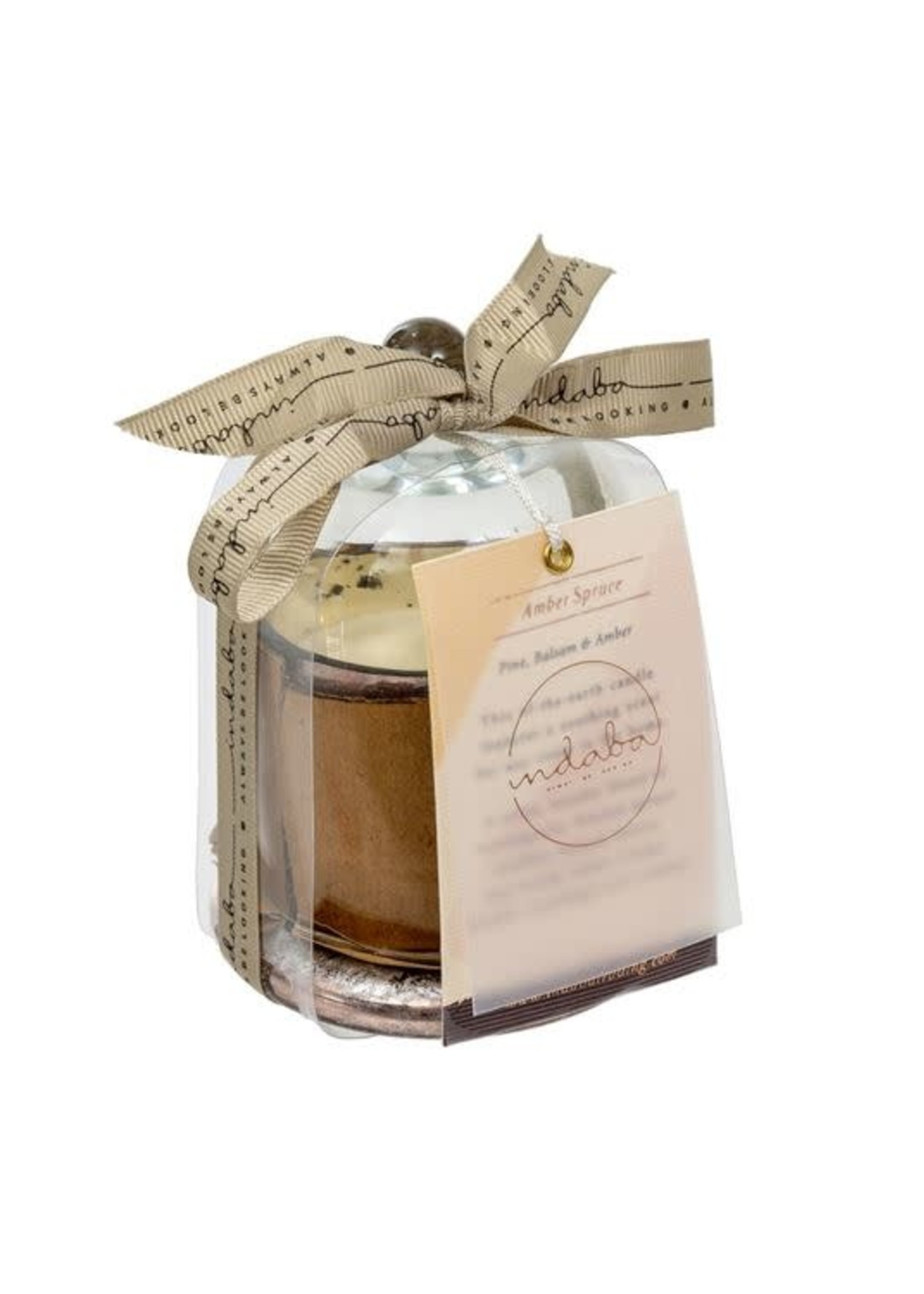 Cloche Candle, Rose Gold S