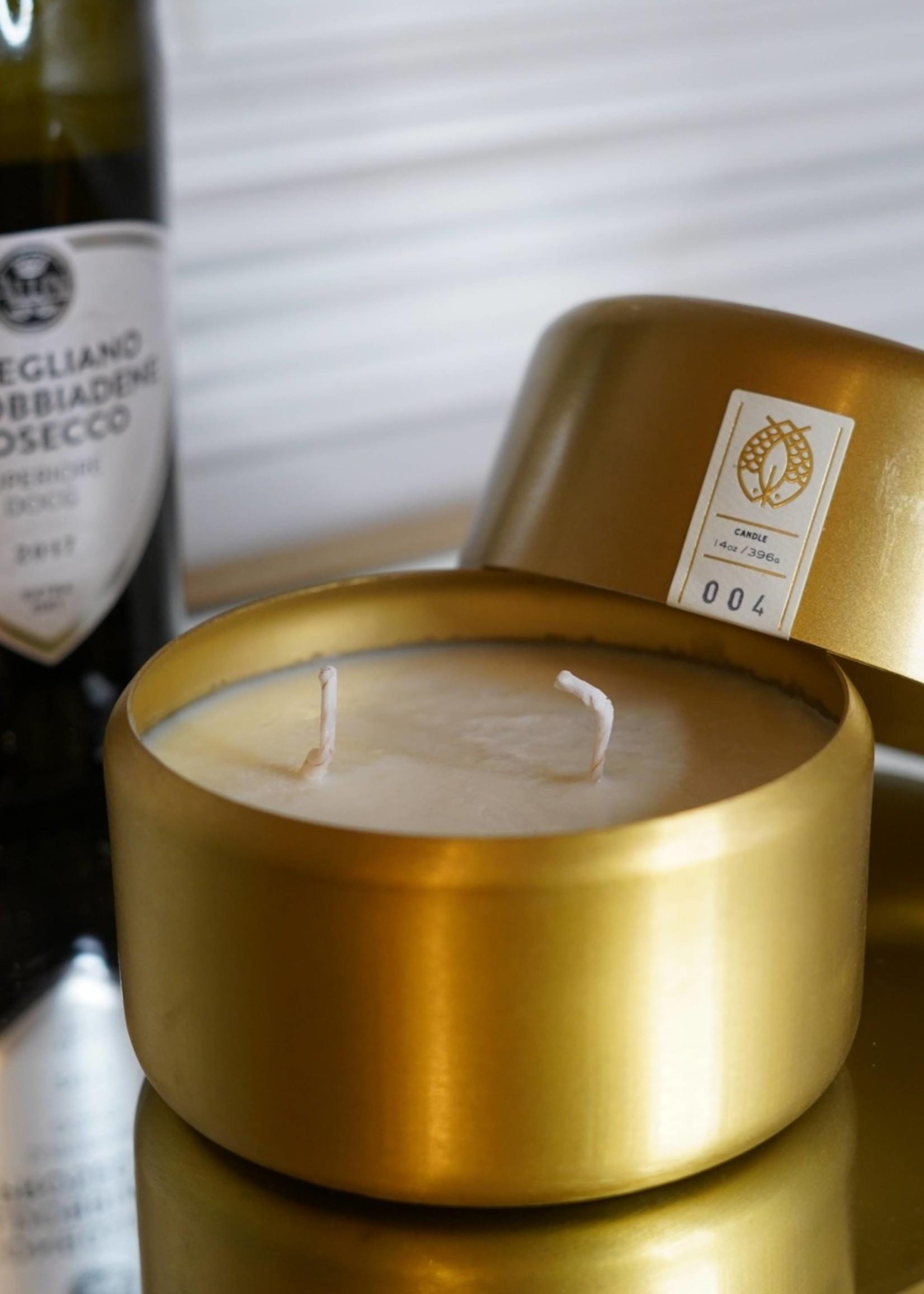 Candlefish No. 67 Molded Metal 14 oz Candle