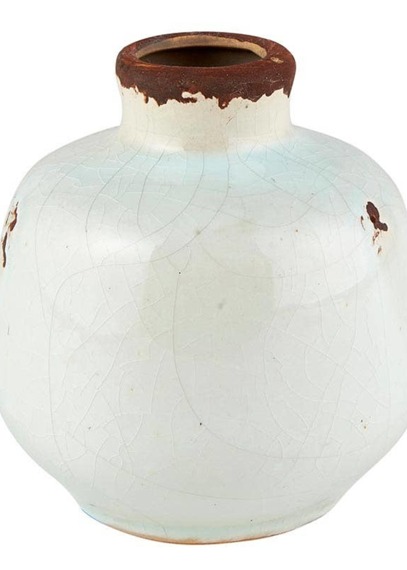Cream Bud Vase