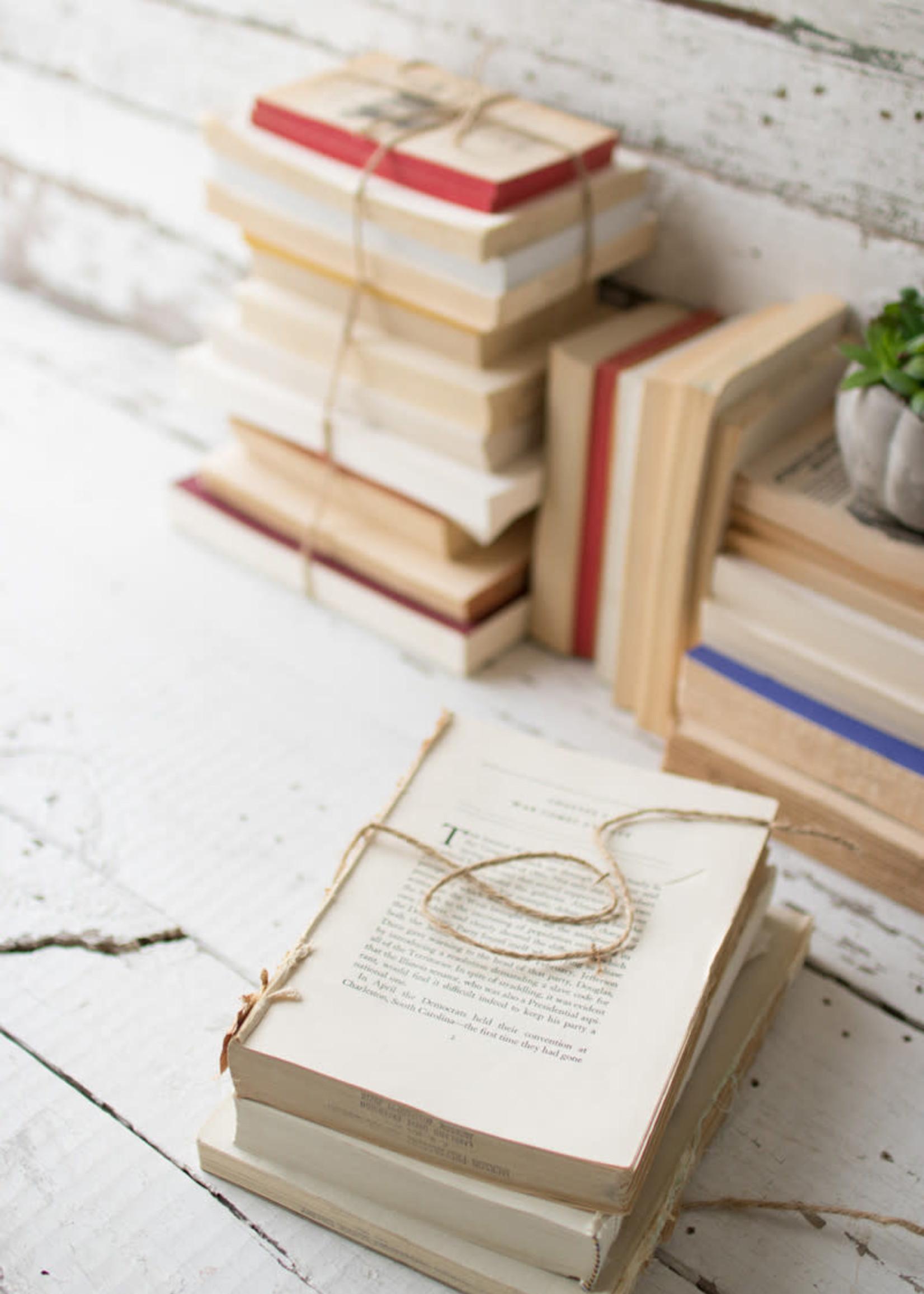 Repurposed Book Bundle - 4in - 5in Per Stack