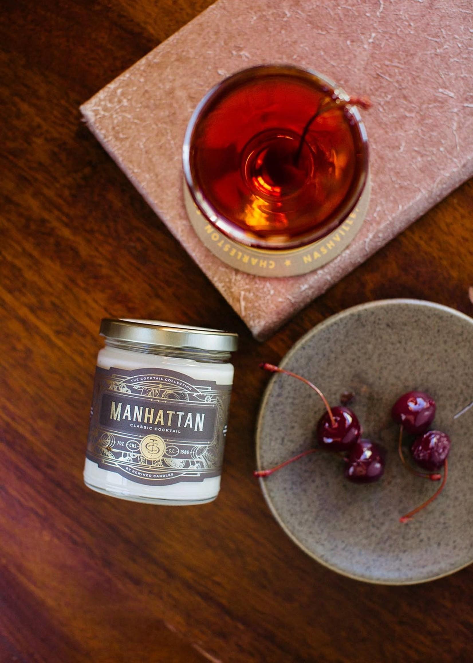 Rewined Manhattan Candle (7 oz)