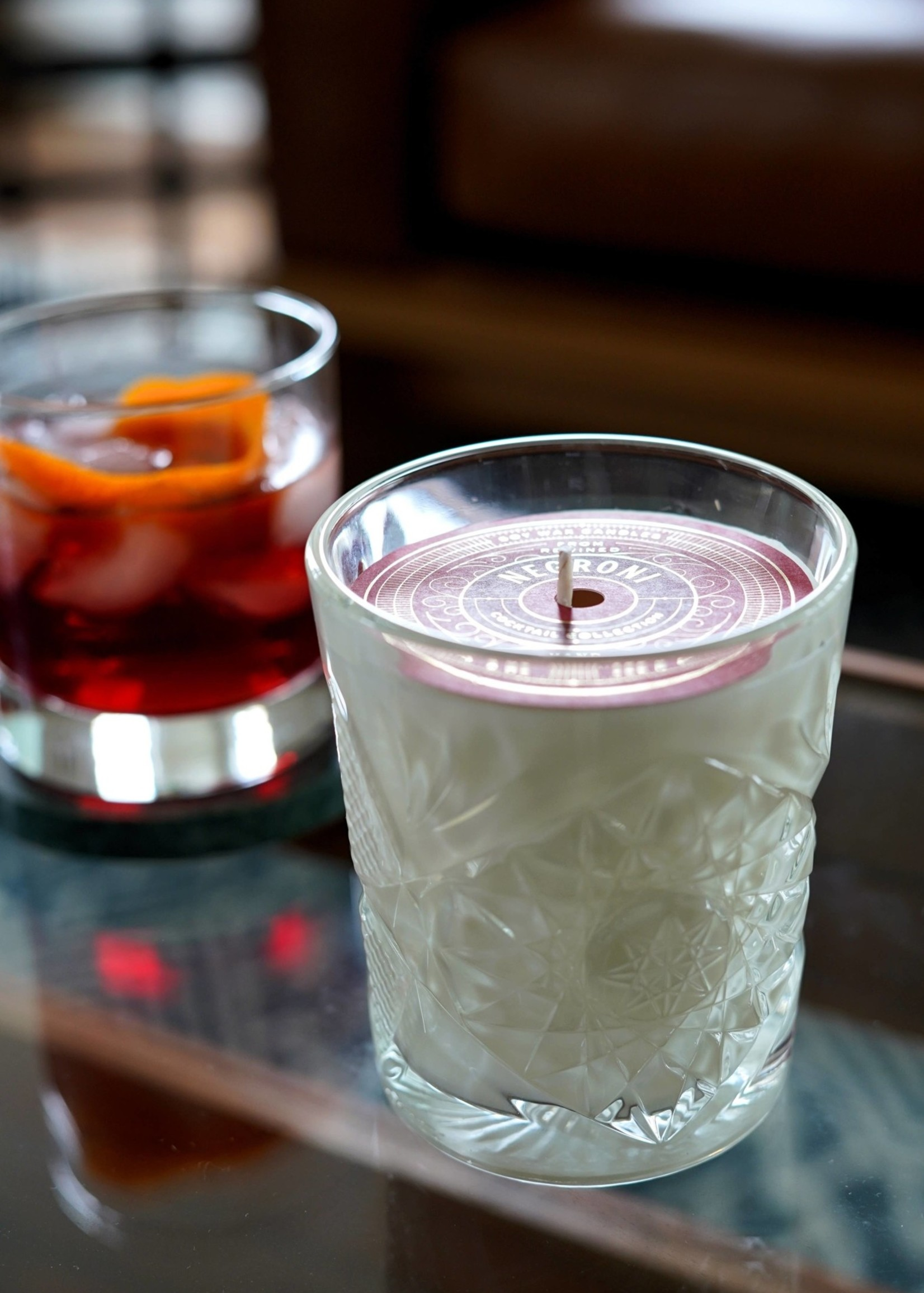 Rewined Negroni Vintage Inspired Candle (9 oz)