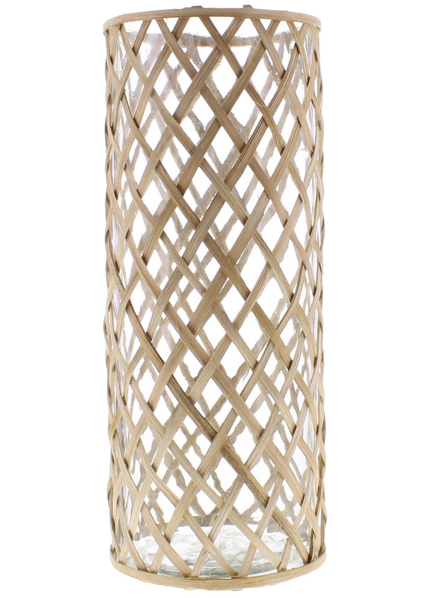 HomArt Cane Weave Vase - Grand