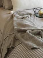 Crown Linen Designs Zen Linen Throw
