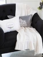 Crown Linen Designs Provence Throw