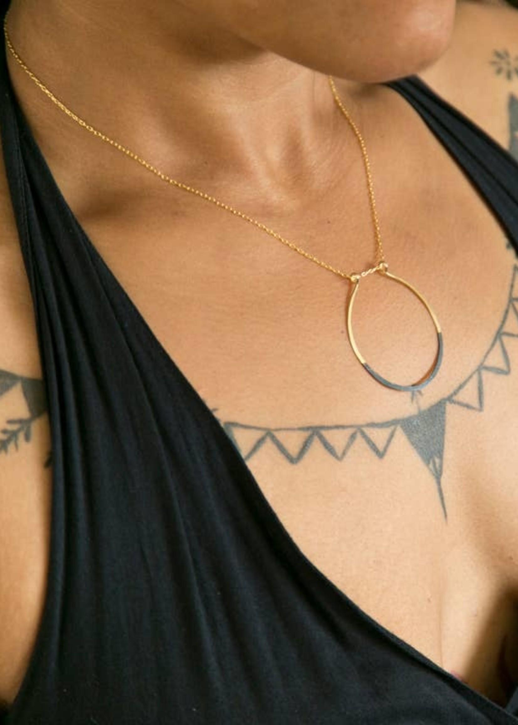 Mind's Eye Design Mired Metal Necklaces