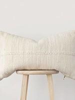 Pillowpia Chindi Lumbar Pillow in Heavy Cream