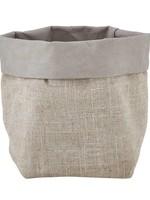 Small Holder - Grey Linen