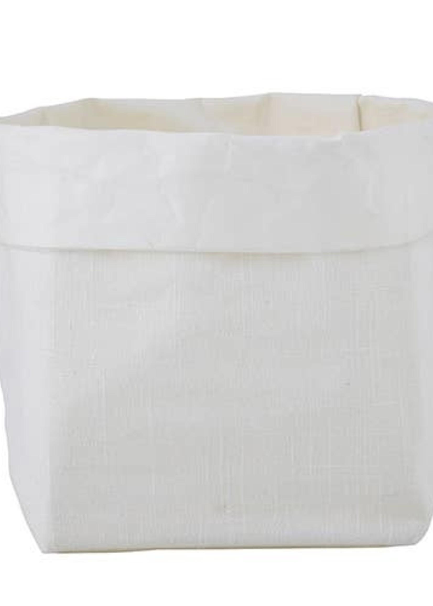 Medium Holder - White Linen