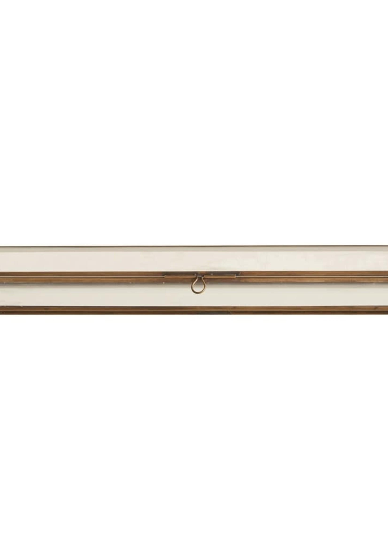 Glass Box w/ Brass Frame, Small