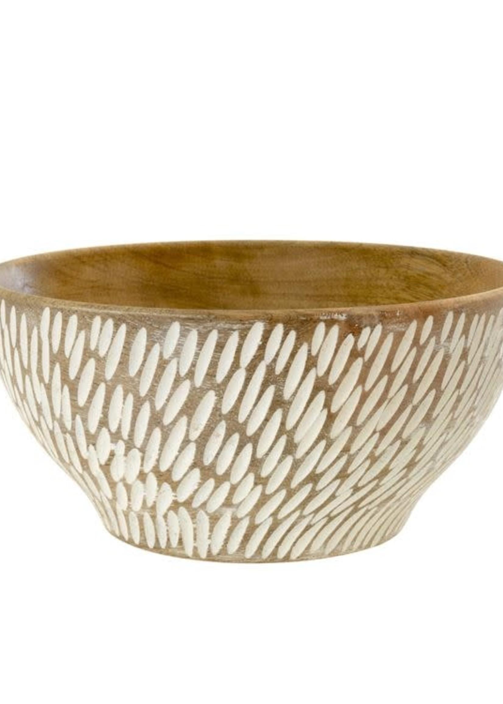 Semilla Wooden Bowl, Small