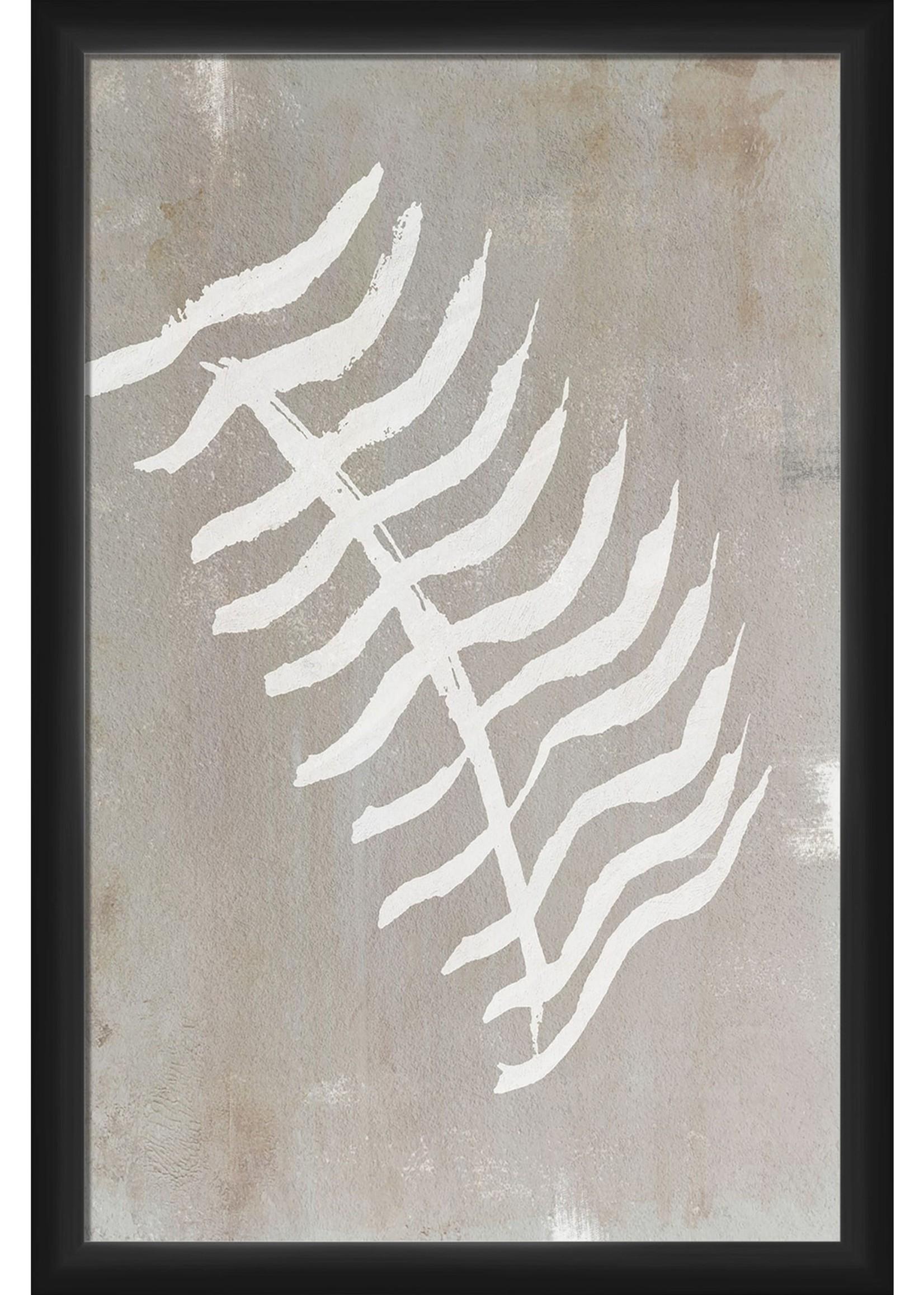 Dried Palm 20'' x 18'' Framed Wall Art