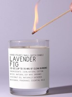 Just Bee Cosmetics Lavender Fig  Candle