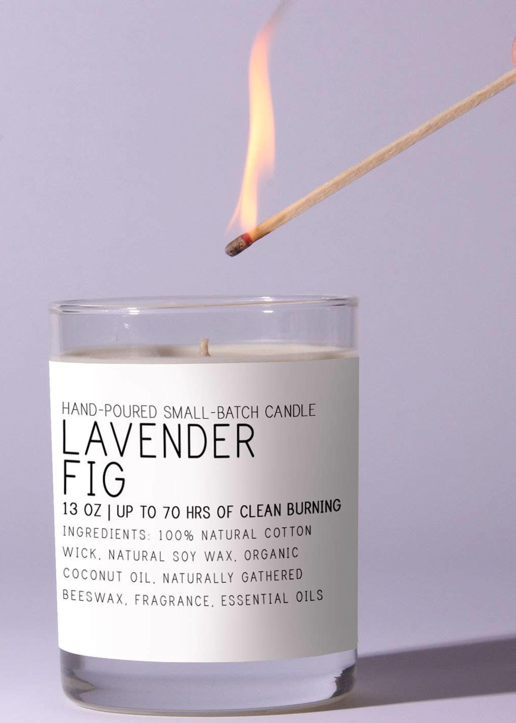Lavender Fig Candle