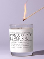 Just Bee Cosmetics Pomegranate & Lemon Rind  Candle