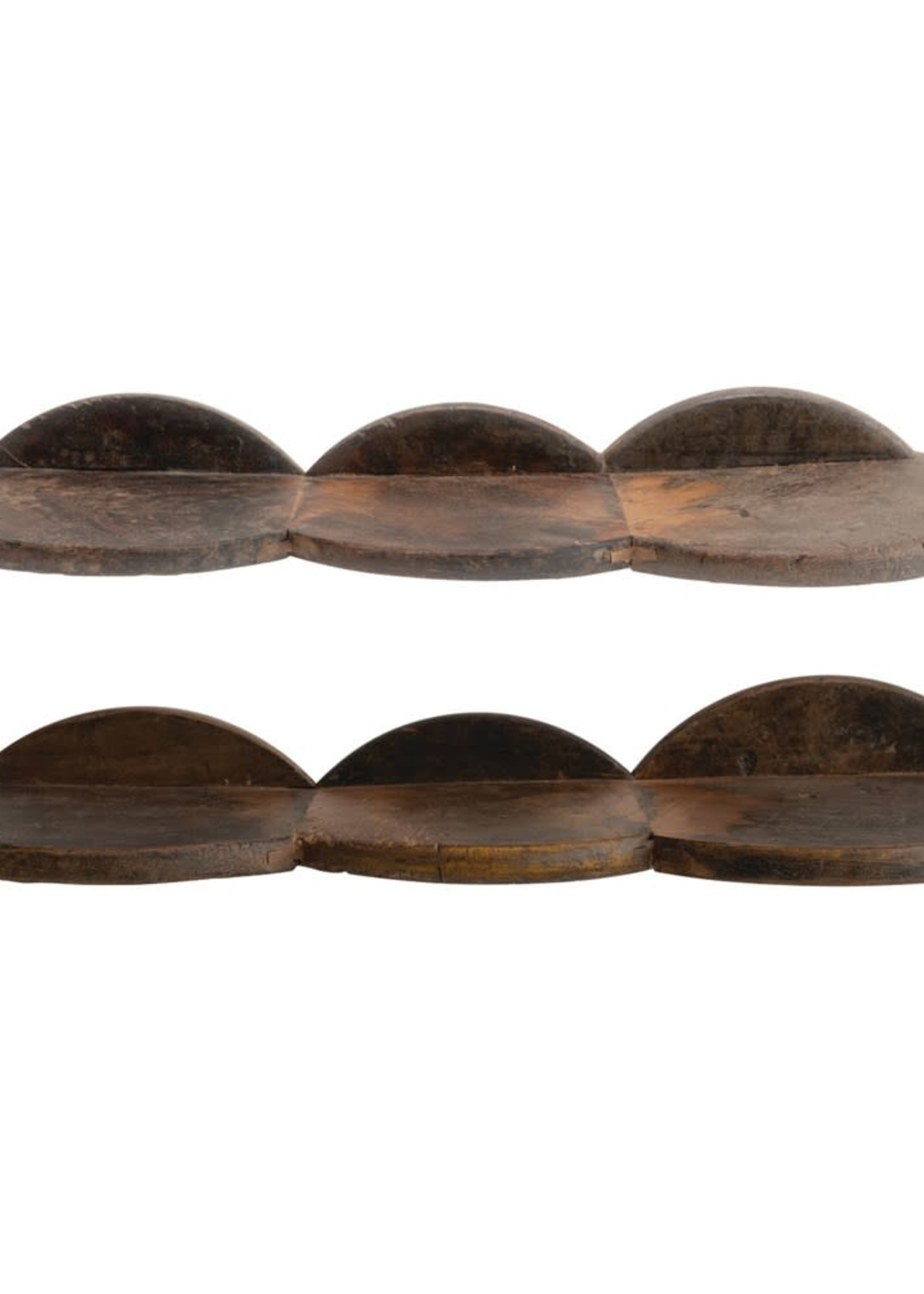 "28""L Triple Wood Shelf"