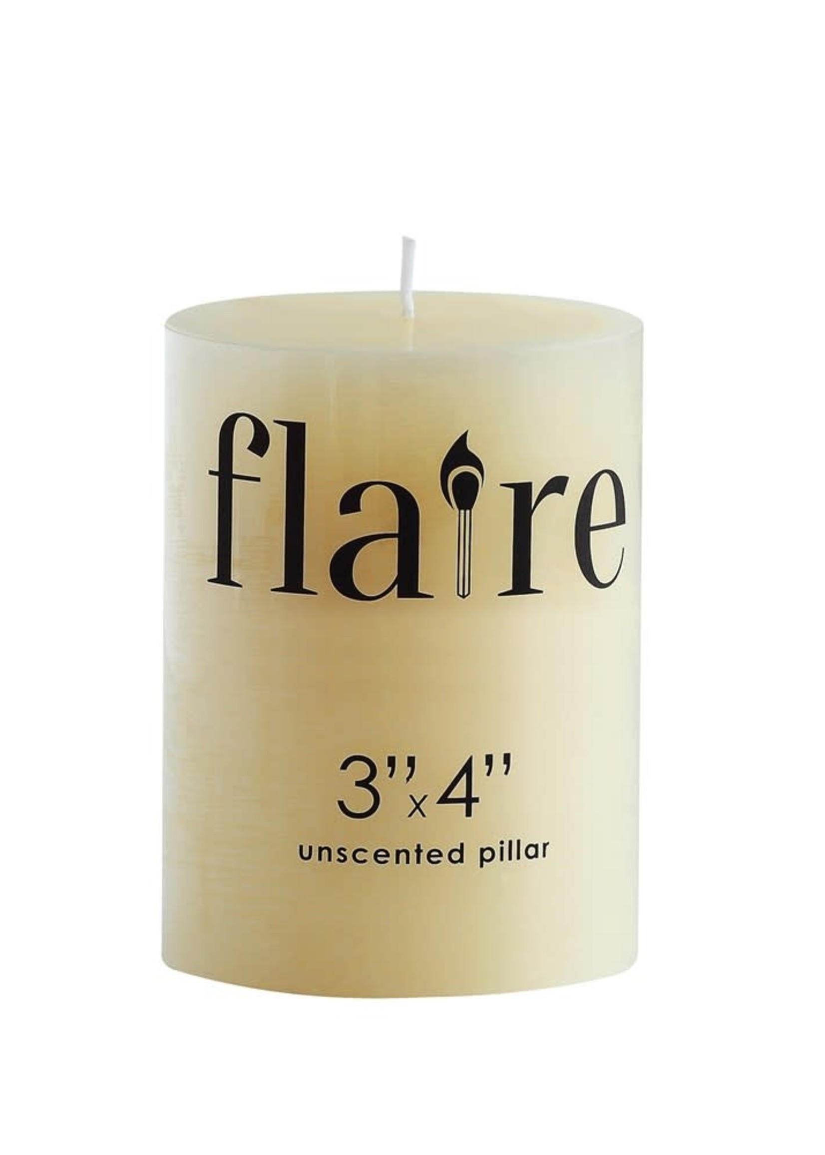 Unscented Pillar Candle (3x4)