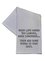 When Life Hands You Lemons 16x24 Tea Towel