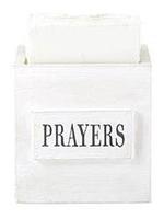 Prayers Wooden Box