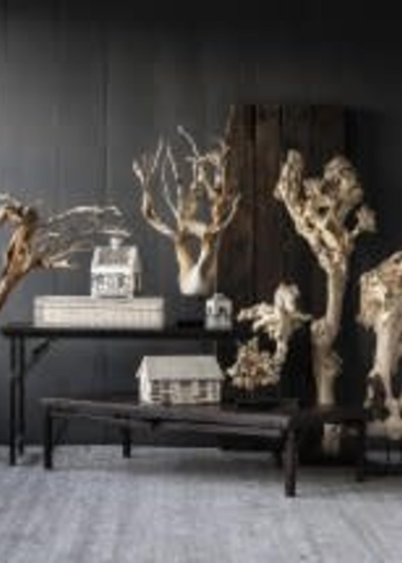 Burly Wood Tabletop Sculpture